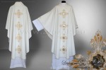 "OG-WOOL-1 ""THE FOUR EVANGELISTS"" GOTHIC CHASUBLE"
