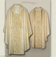 OG-HM-IHS-4 GOTHIC CHASUBLE