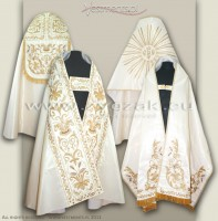 BS-R8 ROMAN STYLE BENEDICTION SET