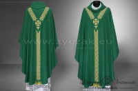 "OG-HM-22 ""PALLIO"" GOTHIC STYLE LOW MASS SET - color: GREEN"