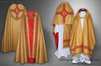 BS-S1 SEMIGOTHIC STYLE BENEDICTION SET