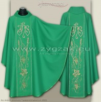 OG-HR-IHS-12 GOTHIC CHASUBLE