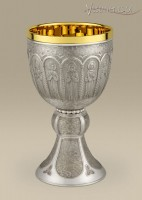 # 180 CONTEMPORARY SILVER CHALICE