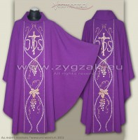 OG-HR-IHS-6  GOTHIC CHASUBLE