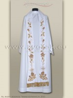 "SR-HR-5 WHITE STOLE ""THE SACRAMENT OF MATRIMONY"""