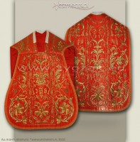 OR-HR-8 RED ROMAN LOW MASS SET