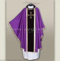OG-HM-05 GOTHIC CHASUBLE WITH VELVET PANELS