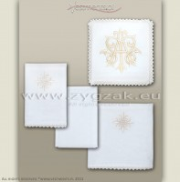 C27 IVORY - MARIAN CHALICE LINEN SET