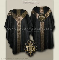 OS-ROZ-GT BLACK/GOLD - SEMIGOTHIC LOW MASS SET