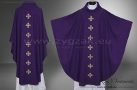 OG-HM-X-14 GOTHIC CHASUBLE - PURPLE