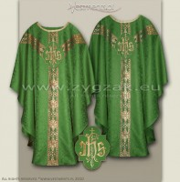 OS-ROZ-GT2  GREEN - SEMIGOTHIC LOW MASS SET