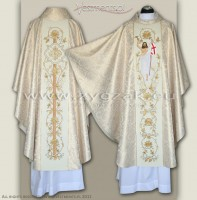 "OG-HM-P-17 GOTHIC CHASUBLE ""RESURRECTION"""