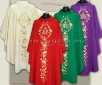 SET OF 20 CHASUBLES - OG-HM-IHS-7