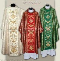 OG8-HM-2 IHS SET OF 4 CHASUBLES