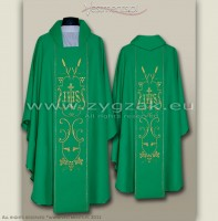 OG-HM-IHS-3 GOTHIC CHASUBLE