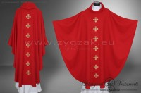 OG-HM-X-14 GOTHIC CHASUBLE - RED