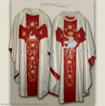 "OG-HM-P-3 GOTHIC CHASUBLE ""RESURRECTION"""