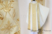 "OG-HM-16 GOLD -  GOTHIC CHASUBLE ""THE SACRAMENT OF MATRIMONY"""