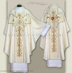 OG-HM-P-2a ROZ GOTHIC CHASUBLE