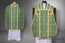 OR-GT-2 ROMAN LOW MASS SET, GREEN/GOLD
