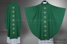 OG-HM-X-14 GOTHIC CHASUBLE - GREEN