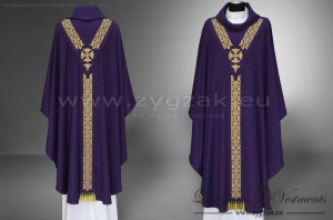 "OG-HM-22 ""PALLIO"" GOTHIC STYLE LOW MASS SET - color: PURPLE"
