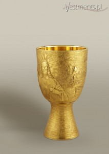 # 147 CONTEMPORARY CHALICE