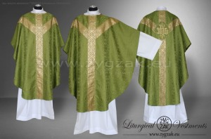 OS-ROZ-GT OLIVE GREEN - SEMIGOTHIC LOW MASS SET