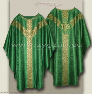 OS-ROZ-GT GREEN - SEMIGOTHIC LOW MASS SET