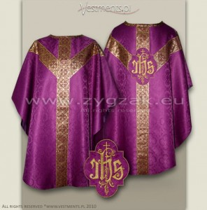 OS-ROZ-GT ROMAN PURPLE - SEMIGOTHIC LOW MASS SET