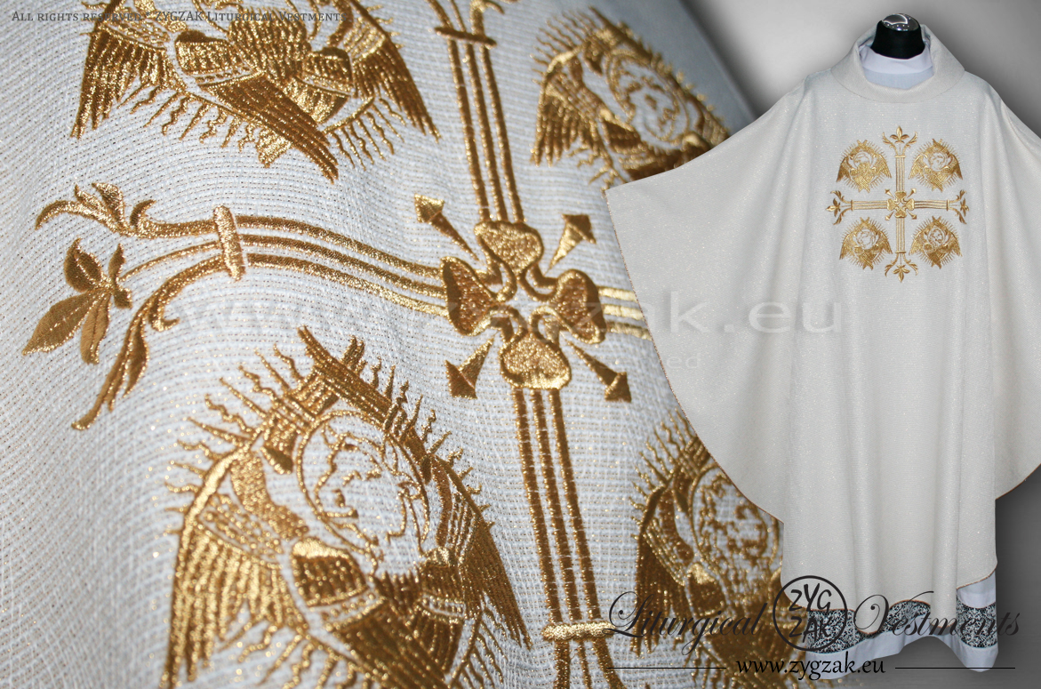 "OG-HM-13 ""THE FOUR EVANGELISTS"" GOTHIC CHASUBLE"