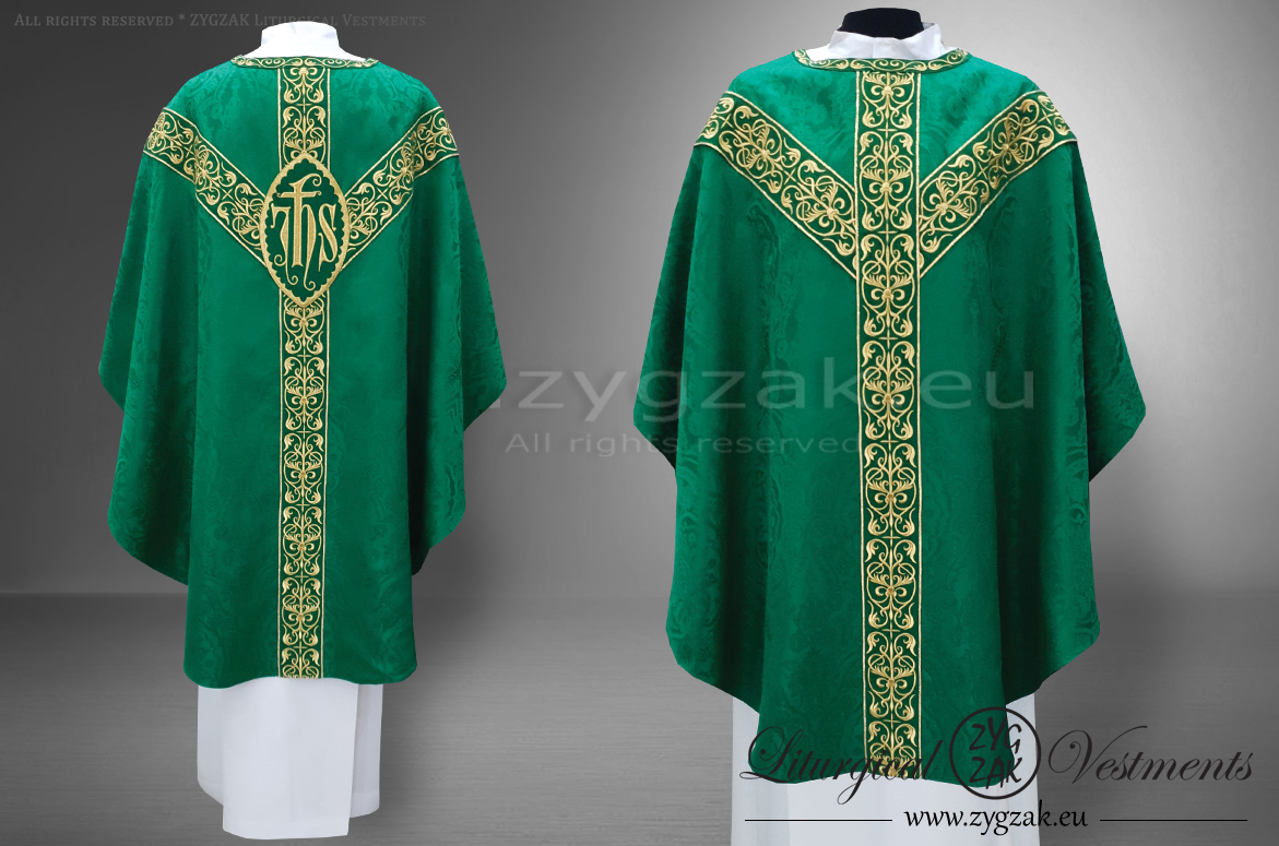 OS-ROZ-GH6 GREEN SEMIGOTHIC LOW MASS SET