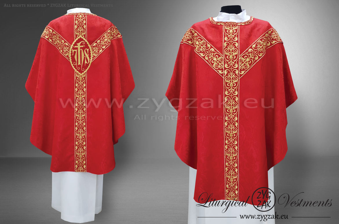 OS-ROZ-GH6 RED SEMIGOTHIC LOW MASS SET